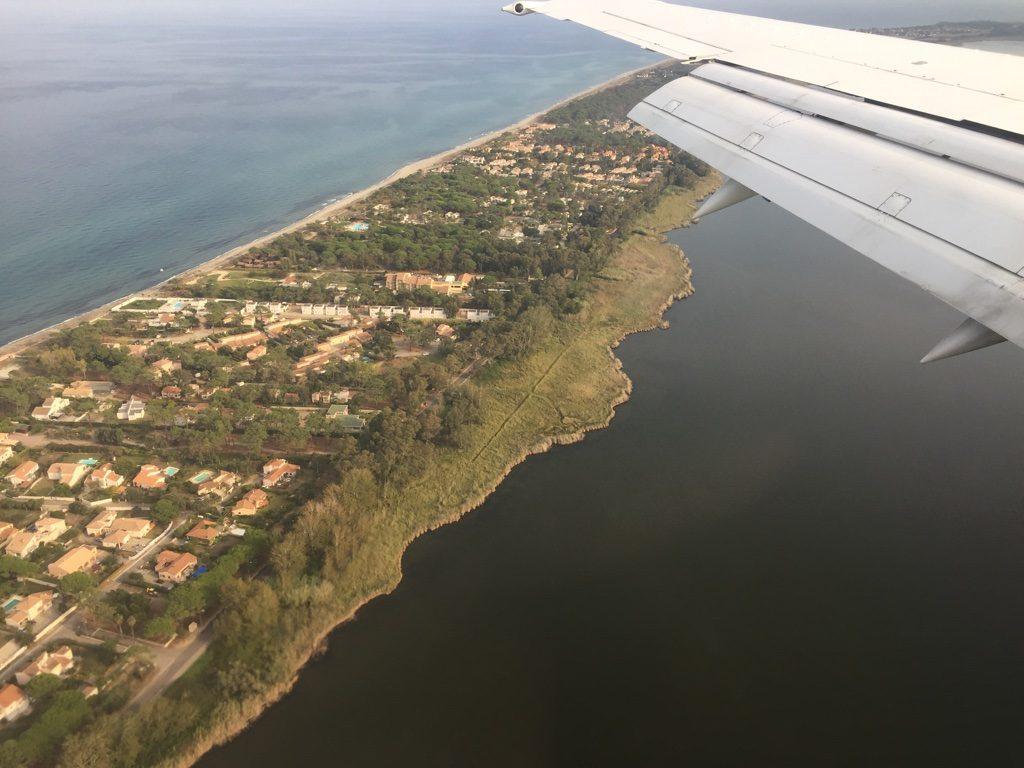 Vue depuis un avion