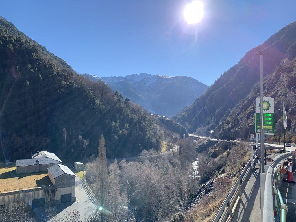 Prix d'essence en Andorre