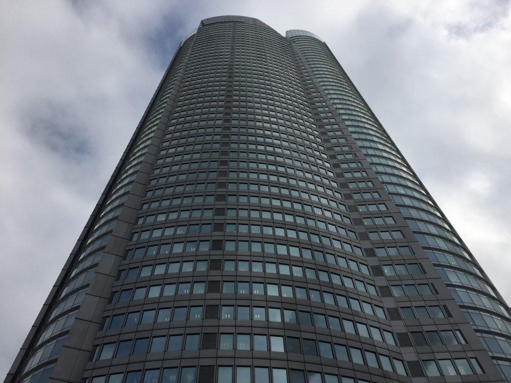 Gratte-ciel Mori Tower à Tokyo