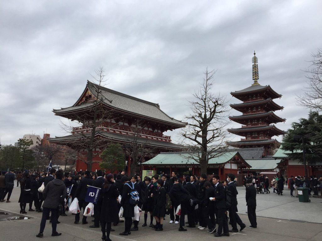 Temple bouddhiste Sensō-ji à Tokyo