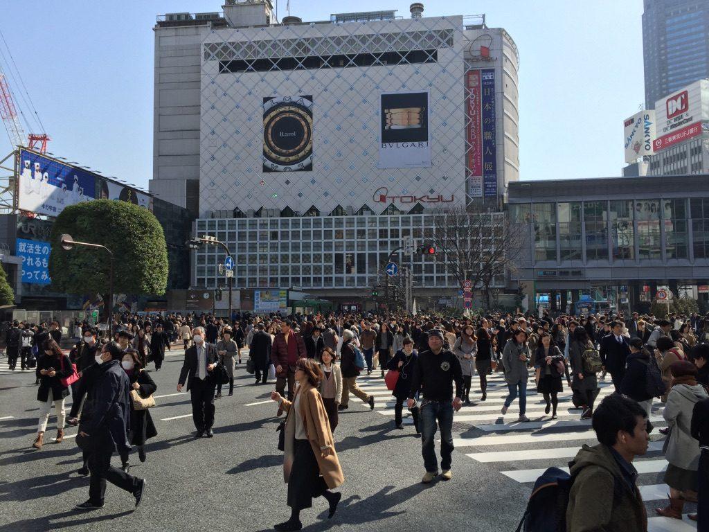 Passage piéton Shibuya Crossing