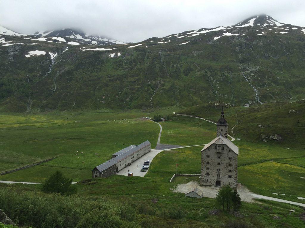 Vieil hospice (Altes Hospiz) dans le Haut-Valais