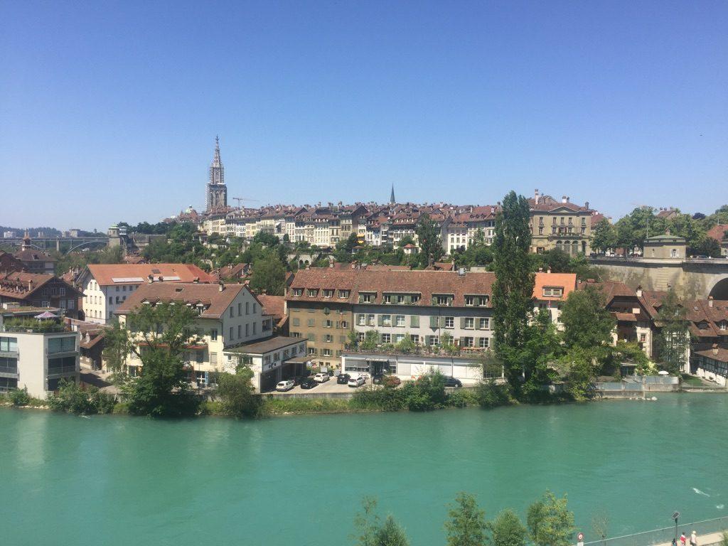 Vue sur la ville Bern en Suisse
