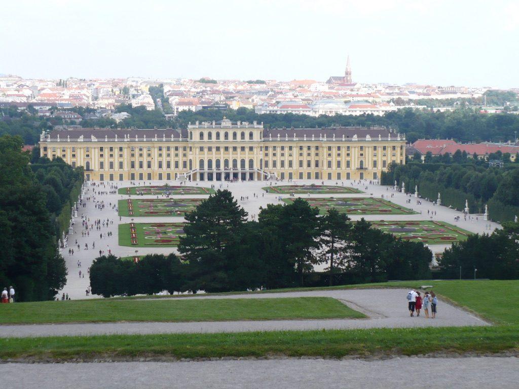Château de Schönbrunn à Vienne en Autriche