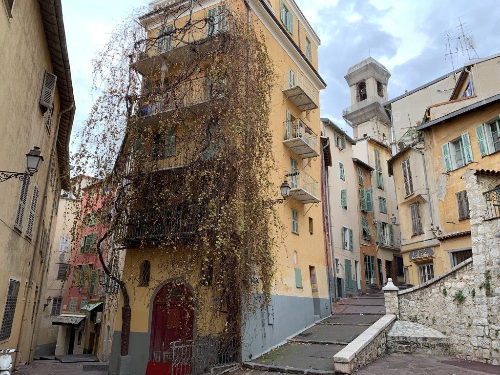 Vieille ville de Nice en France