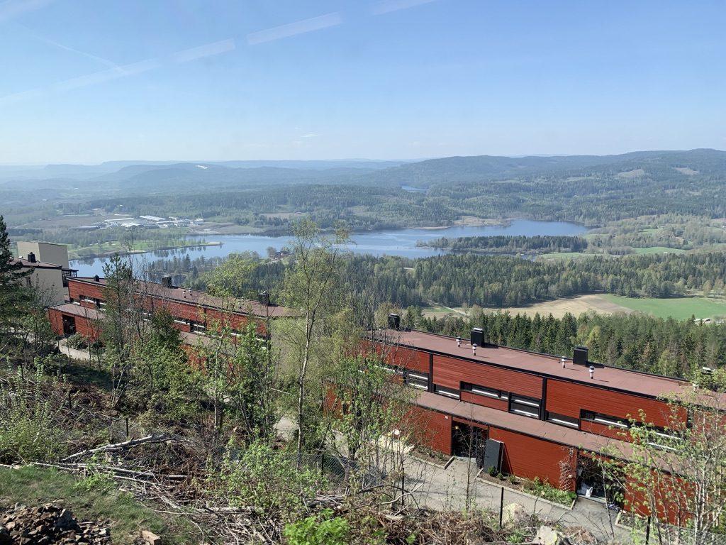 Lac Bogstadvannet en Norvège