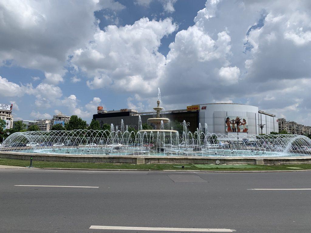 Piața Unirii à Bucarest