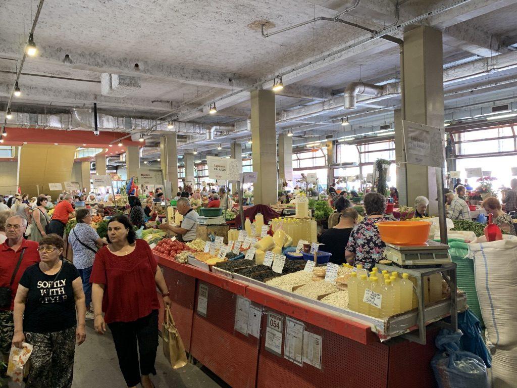 Marché Piaţa Obor à Bucarest