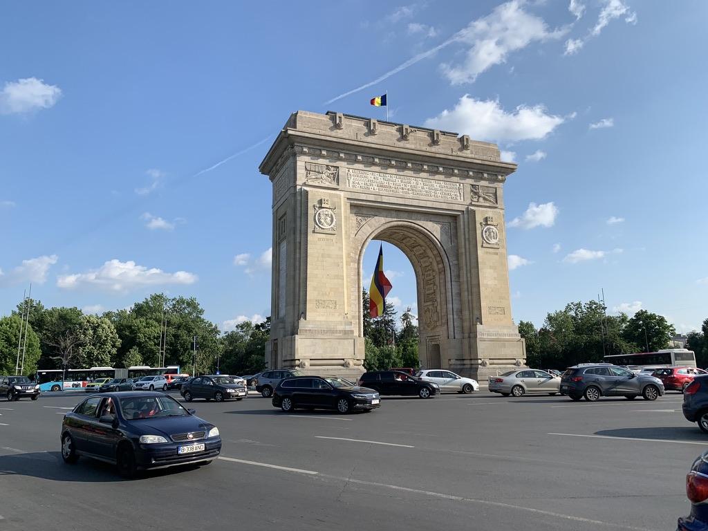 Arcul de Triumf à Bucarest